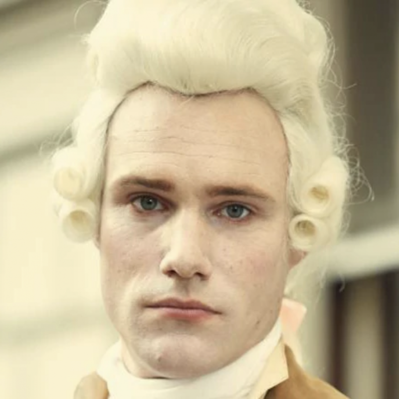 Be sure to catch Hugh Skinner in the brilliant period drama Harlots.