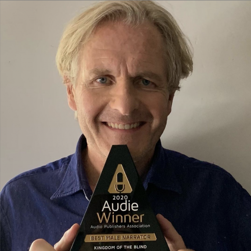 Huge congratulations to Robert Bathurst for winning the Best Male Narrator at the Audie Awards 2020!