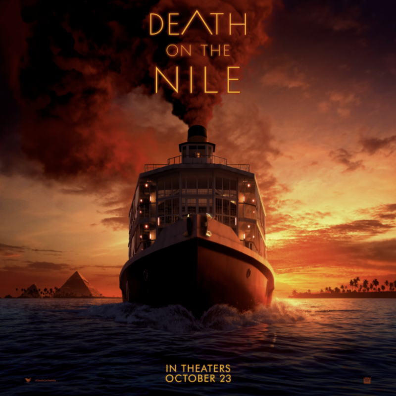 The trailer is finally out for Death on the Nile starring the brilliant Tom Bateman!