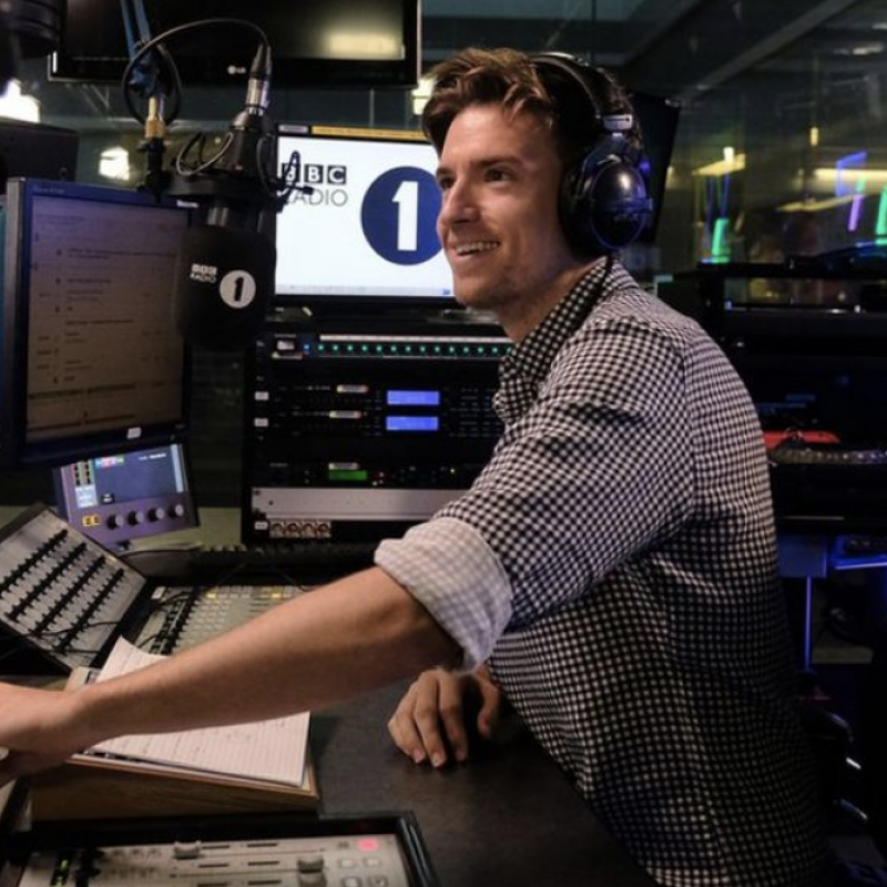 Congratulations to Greg James as he celebrates his two year anniversary hosting the Breakfast Show on BBC Radio 1!