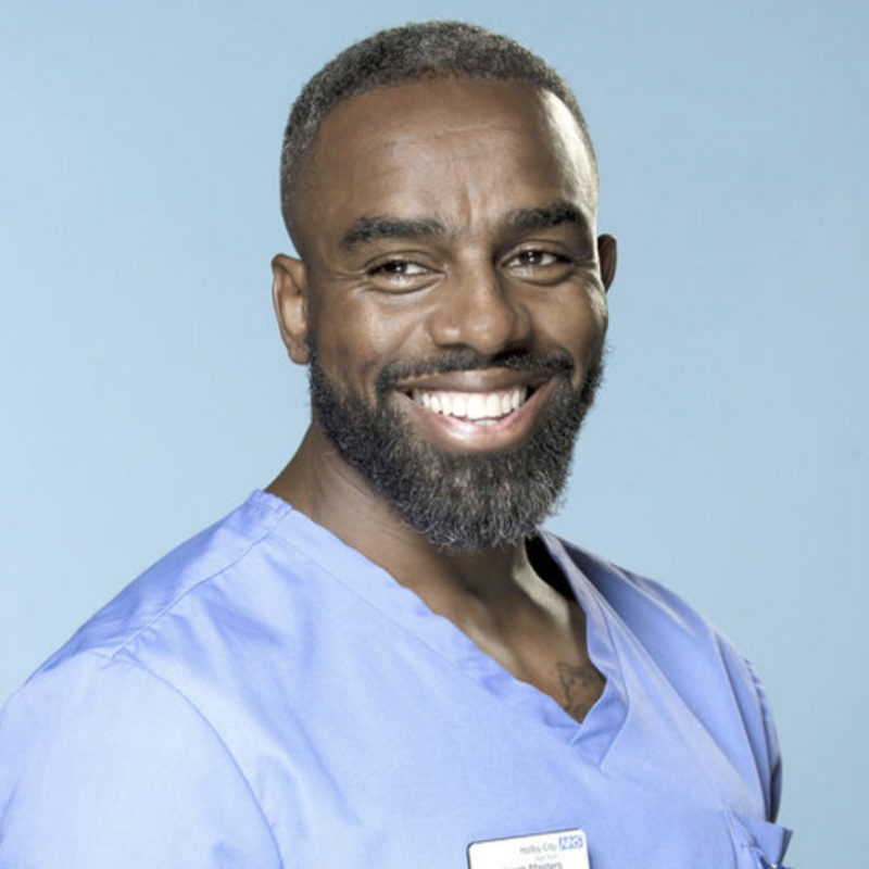 Don't miss Charles Venn in the last episode of the current series of Casualty!
