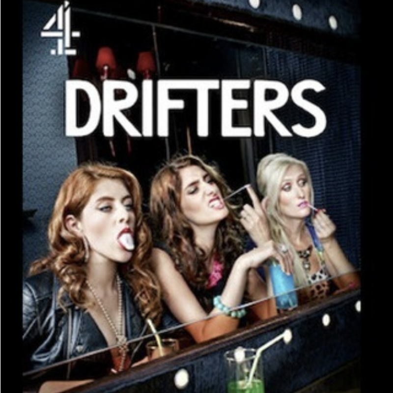 All 4 series of the Drifters are now on Netflix! Written and starring Jessica Knappett and Lauren O'Rourke.