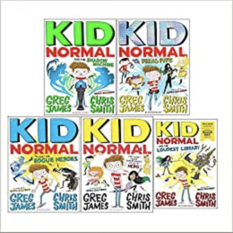 Greg James' children's book The Final Kid Normal is out now on audiobook!
