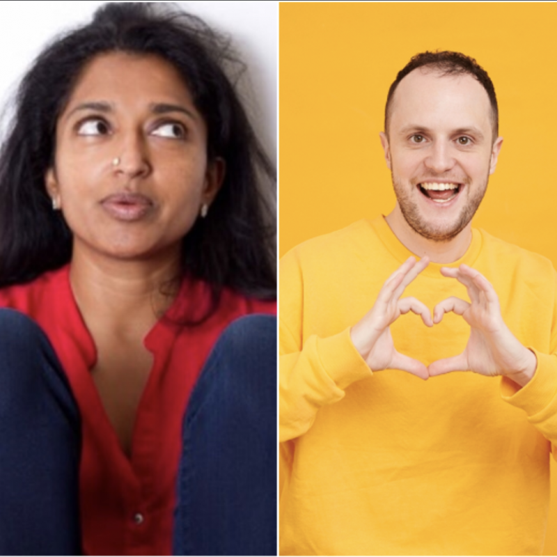 Don't miss Jack Barry and Sindhu Vee as they perform at the Country Mile Comedy Club!