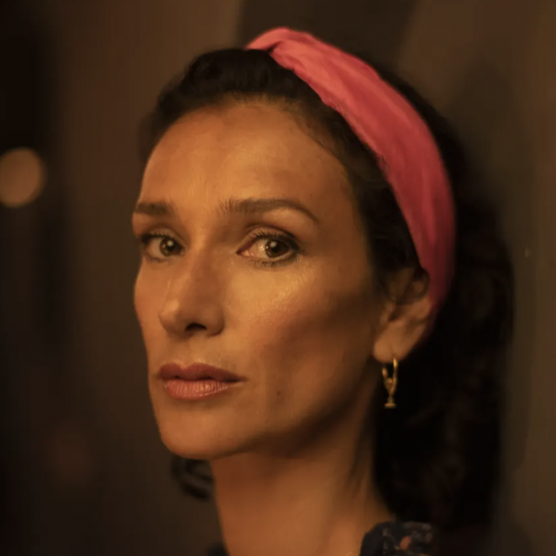 Indira Varma stars in the Faith Healer as part of the Old Vic: In Camera series.
