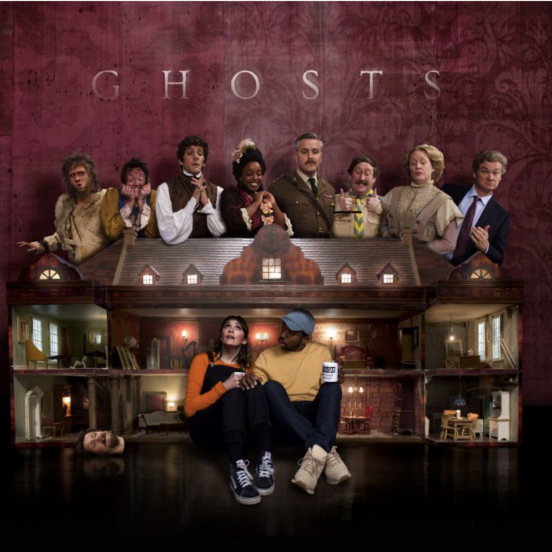 The second series of Ghosts starts today! Starring Charlotte Ritchie, Kiell Smith-Bynoe and Katy Wix.