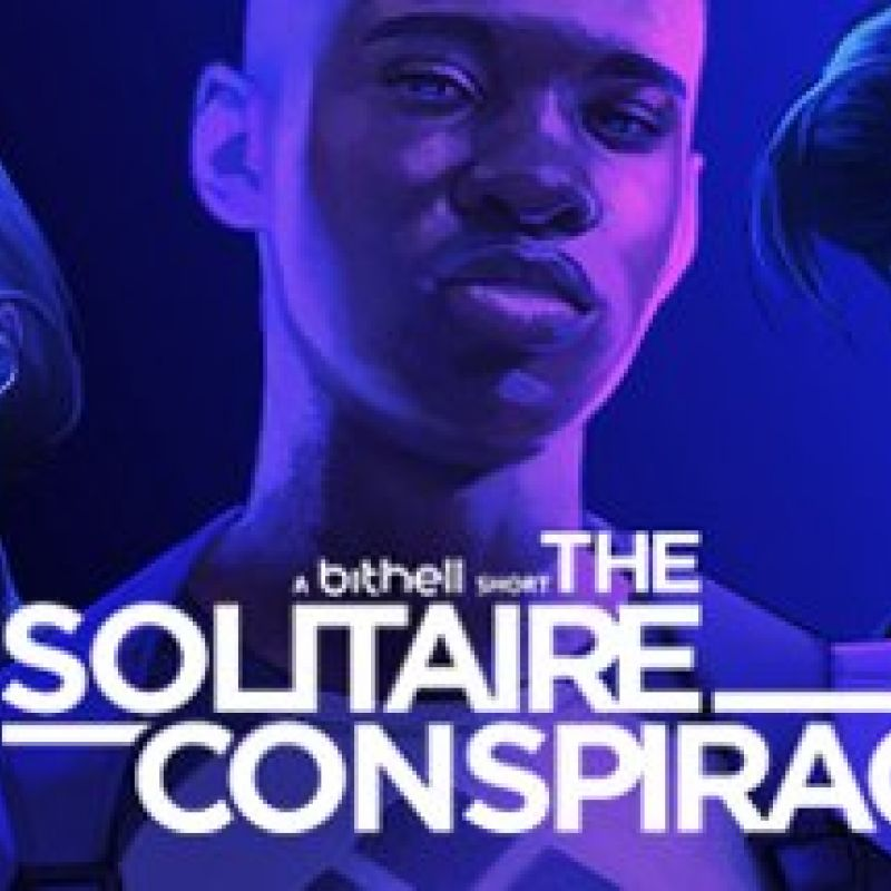 Inel Tomlinson is starring in Mike Bithell's latest video game The Solitaire Conspiracy!