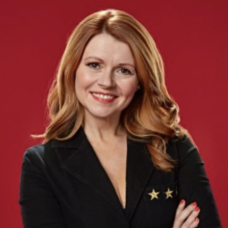 The lovely Sian Gibson narrates the new show The Grand Party Hotel!
