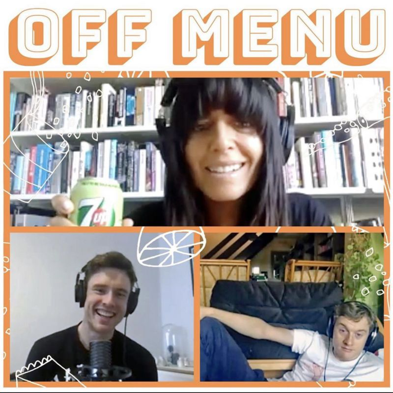 A new episode of the Off Menu podcast is out with the wonderful Claudia Winkleman!