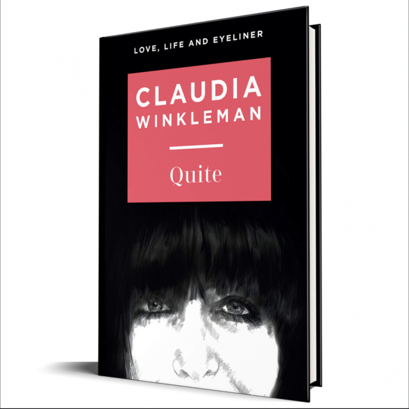 Claudia Winkleman's warm, wry and heartfelt new book 'Quite' is out today!