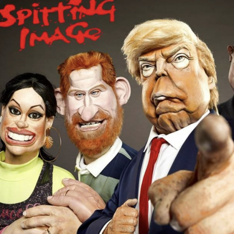 Brand new Spitting Image with voices from Indira Varma and Jason Forbes!