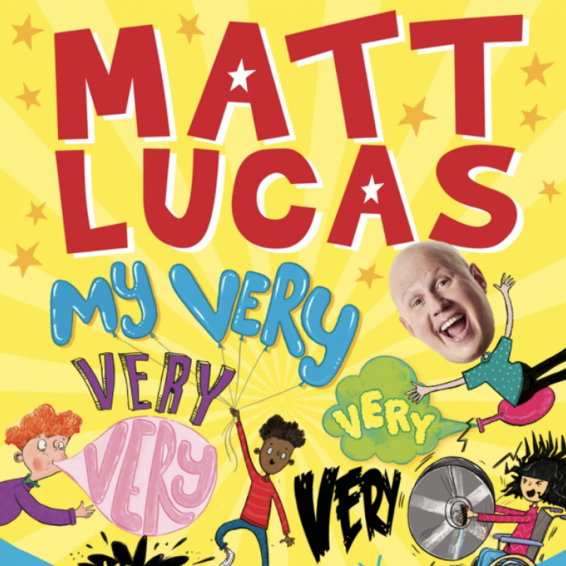 Matt Lucas' My Very Very Very Very Very Very Very Silly Book Of Jokes is out now!