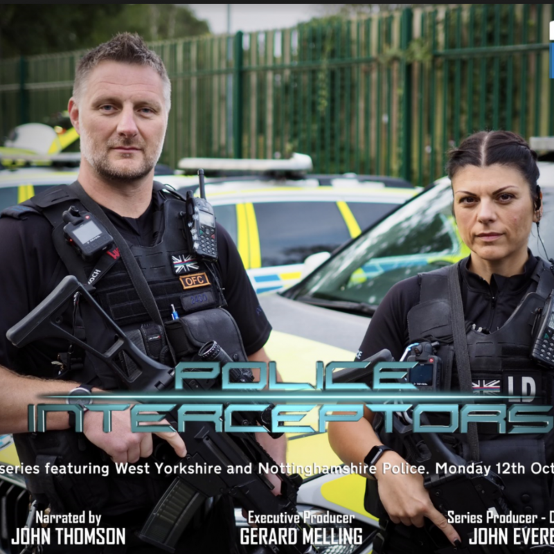 New Police Interceptors is back, narrated by the lovely John Thomson!