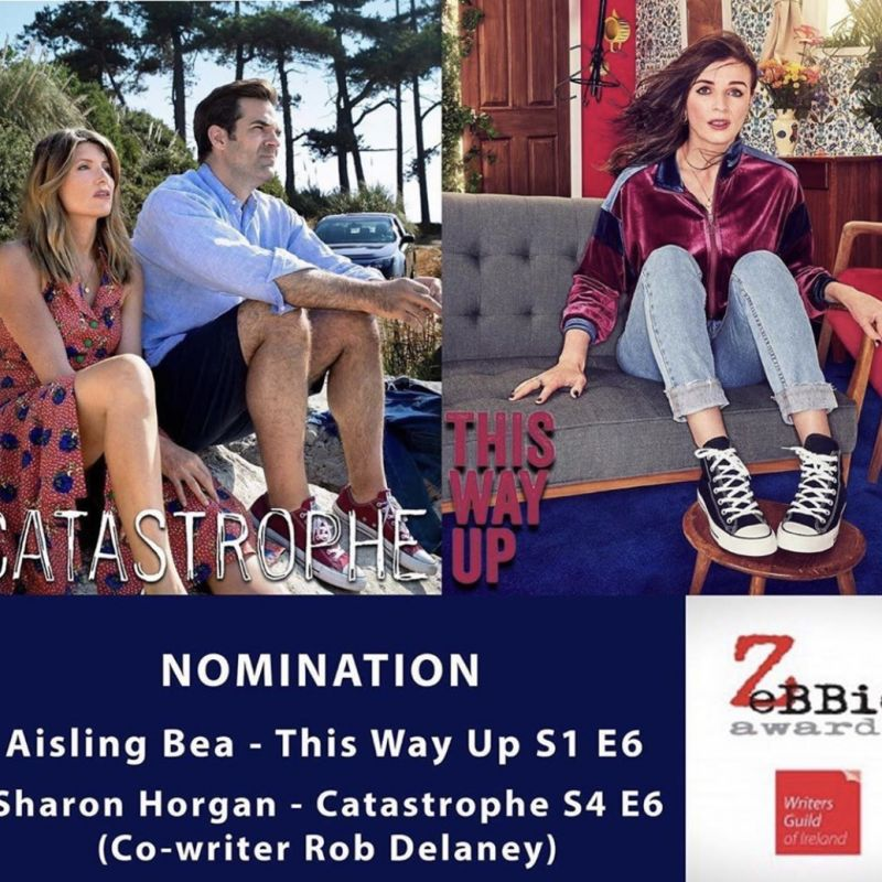 Congratulations to Aisling Bea and Sharon Horgan on their ZeBBie Award nominations!