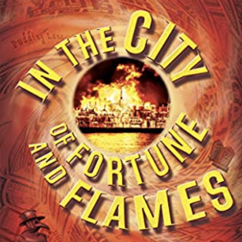 Clive Mantle's new book In the City of Fortune and Flames is out today!