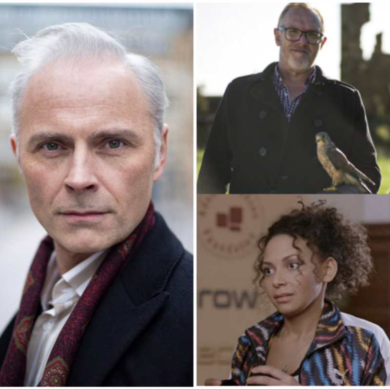 Huge congratulations to Mark Bonnar, Lois Chimimba and Greg Davies on their Scottish BAFTA nominations!