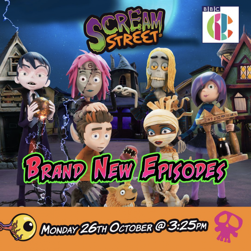 Brand new episodes of Scream Street with the amazing John Thomson!