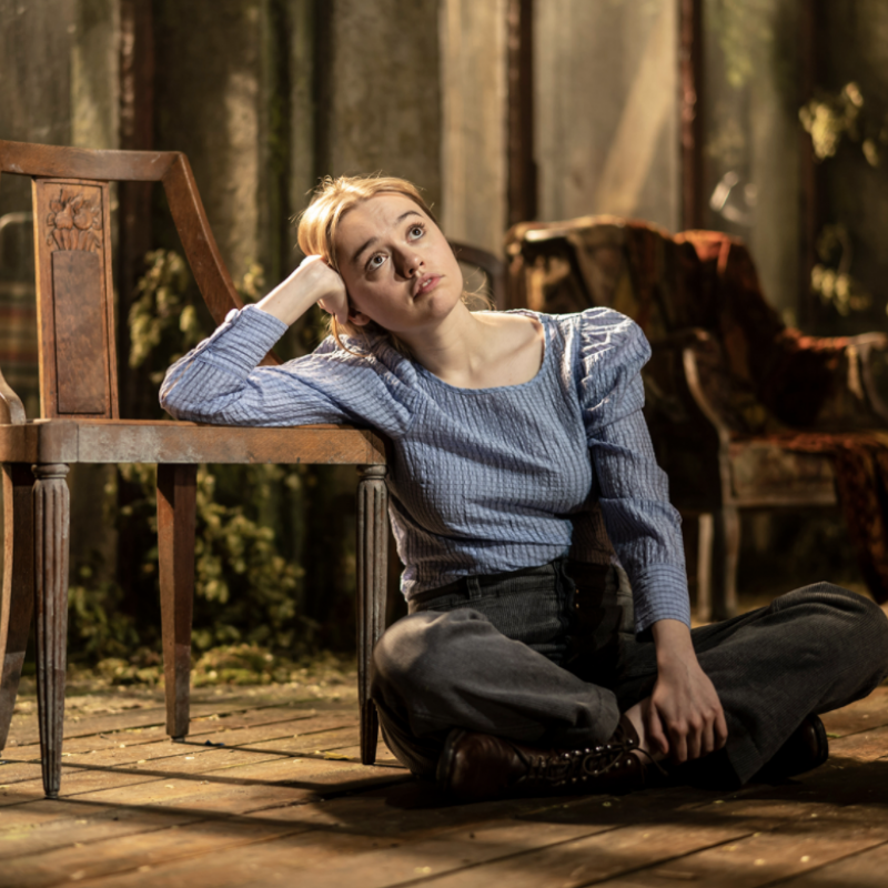 Missed out on seeing Aimee Lou Wood in the five star show of Uncle Vanya?