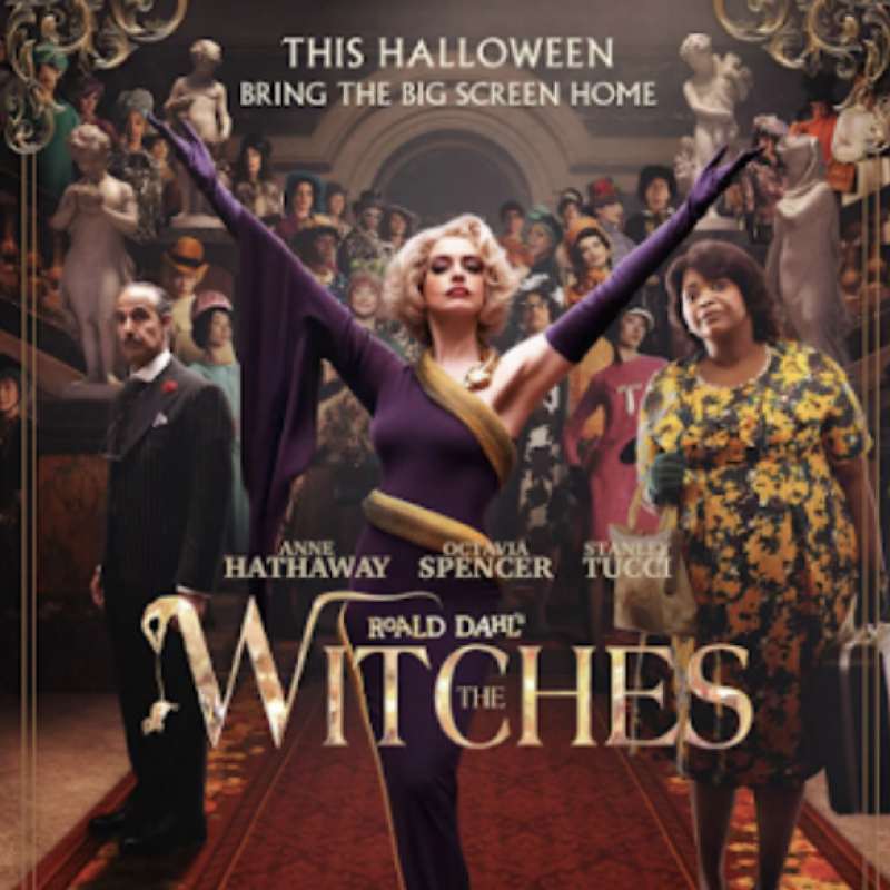 The new adaptation of Roald Dahl's Witches is released today with Charles Edwards!
