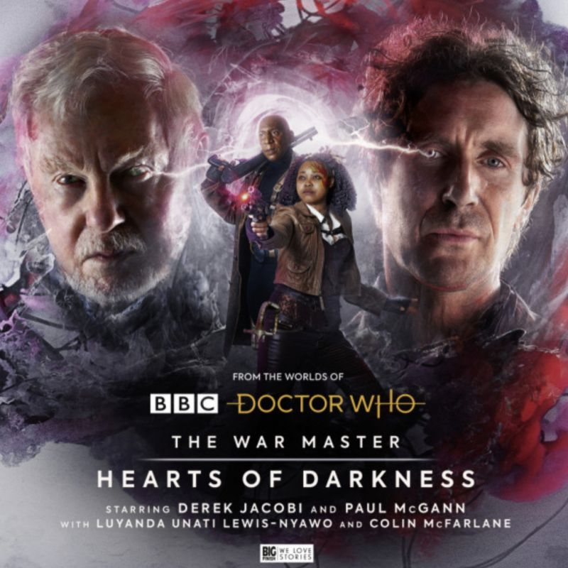 Doctor Who: The War Master Heart of Darkness is out now with Luyanda Lewis-Nyawo and Sandra Huggett!