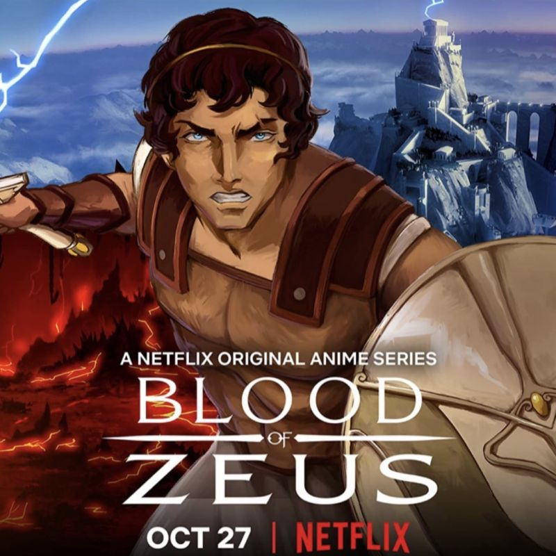 New animated series Blood of Zeus has landed on Netflix with Jessica Henwick!