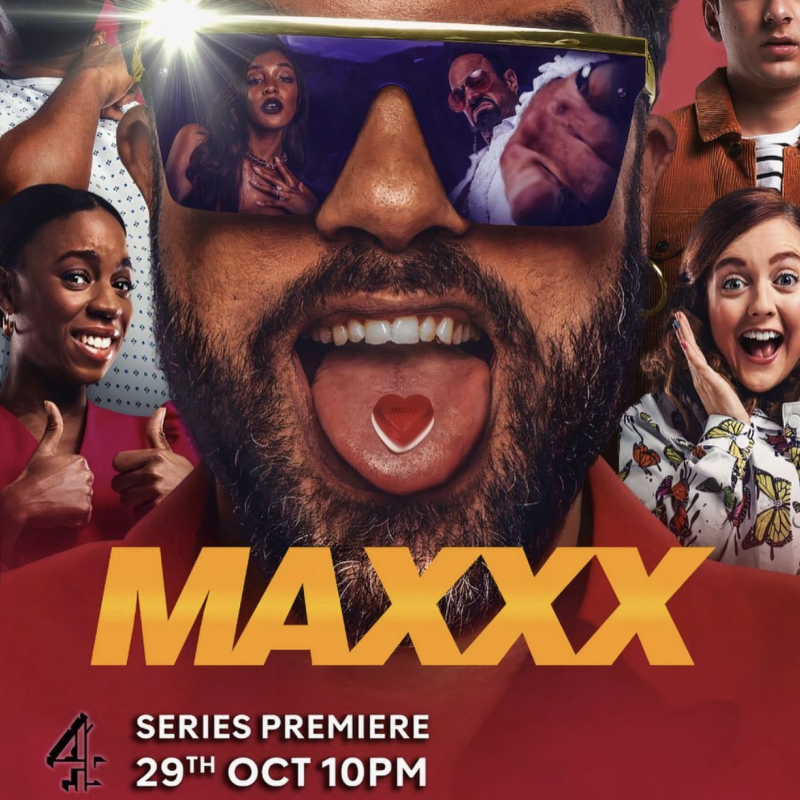 Don't miss the series premiere of new comedy show Maxxx with Katie Lyons!
