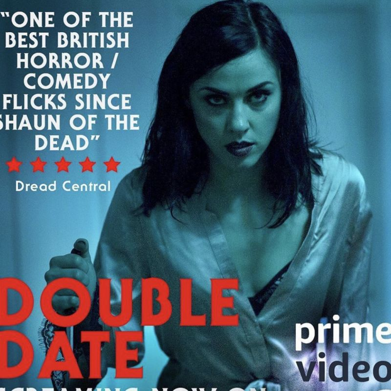 The brilliant horror film Double Date starring Kelly Wenham is out now!