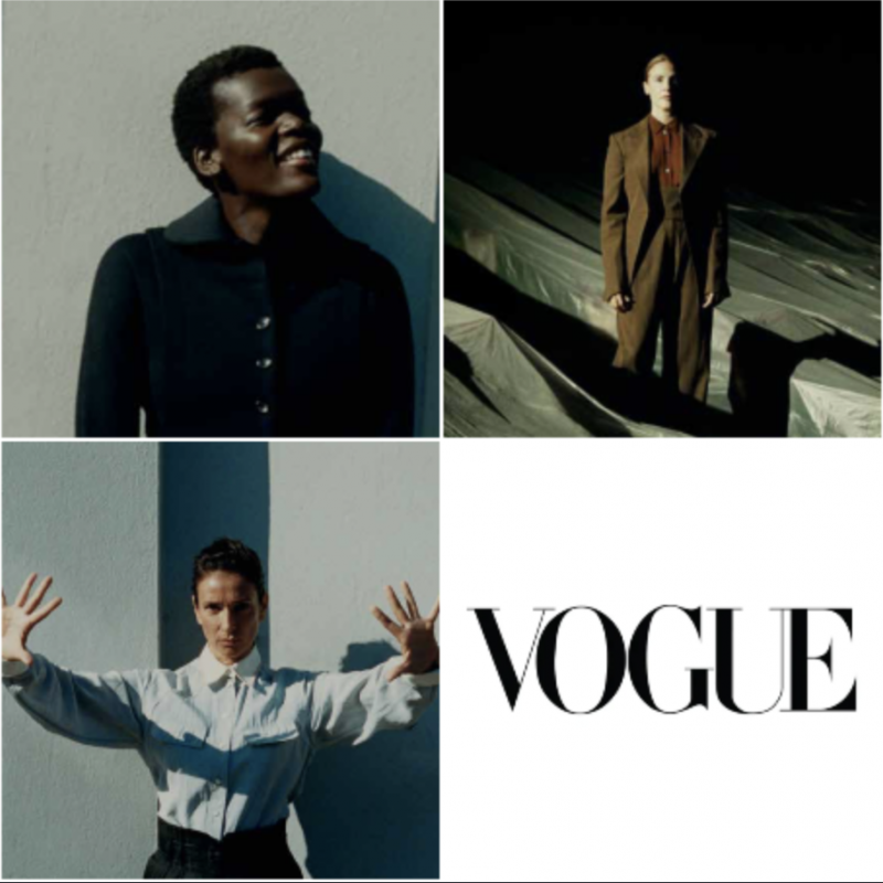 Be sure to check out the December issue of Vogue which features Rosalie Craig, Sheila Atim and Indira Varma.
