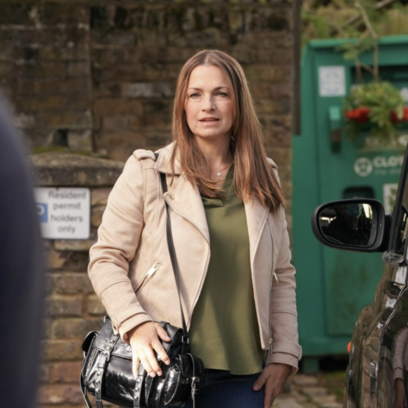 Tune into Eastenders tonight as Simone Lahbib hits the square as new character Katy Lewis.