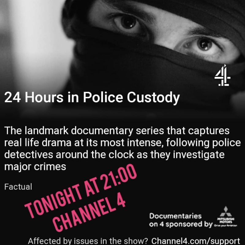 Royce Pierreson narrates the new series of 24 Hours in Police Custody!