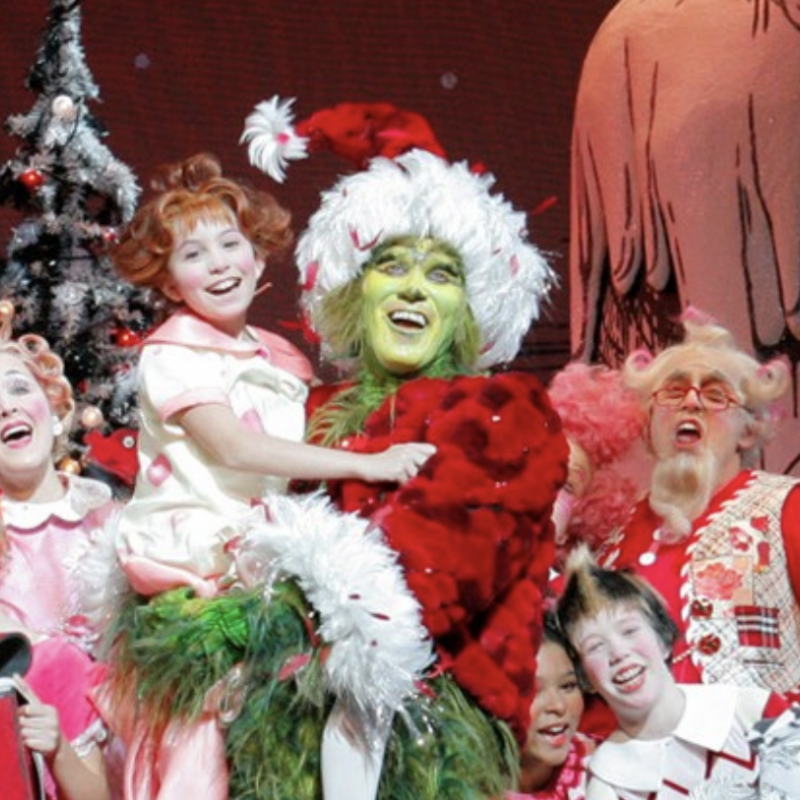 Ako Mitchell can be seen in NBC's Dr. Seuss' The Grinch Musical!