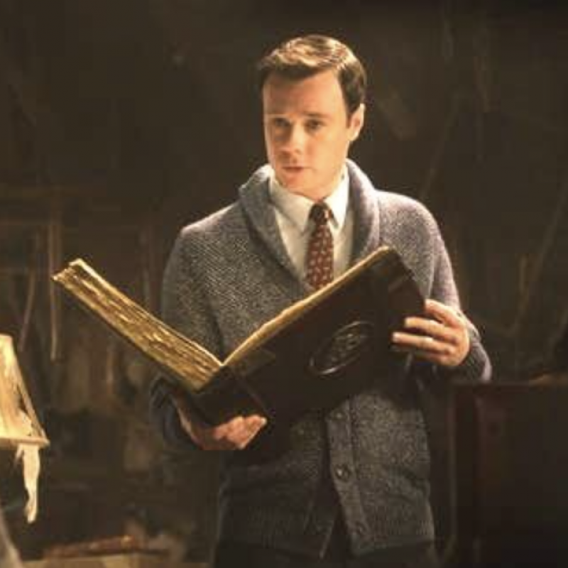 Charmed is back with the lovely Rupert Evans!