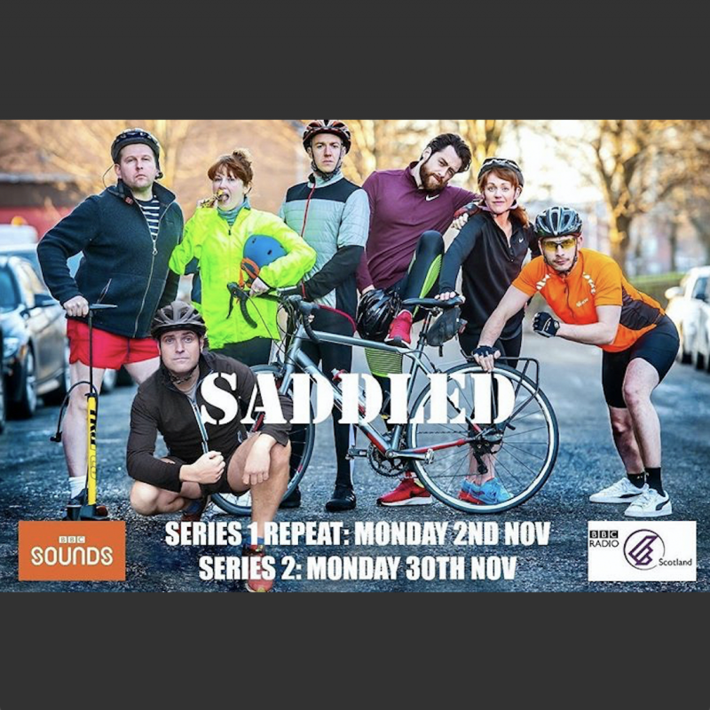 Don't miss series 2 of the brilliant cycling sitcom Saddled, with Richard Gadd and Greg McHugh.