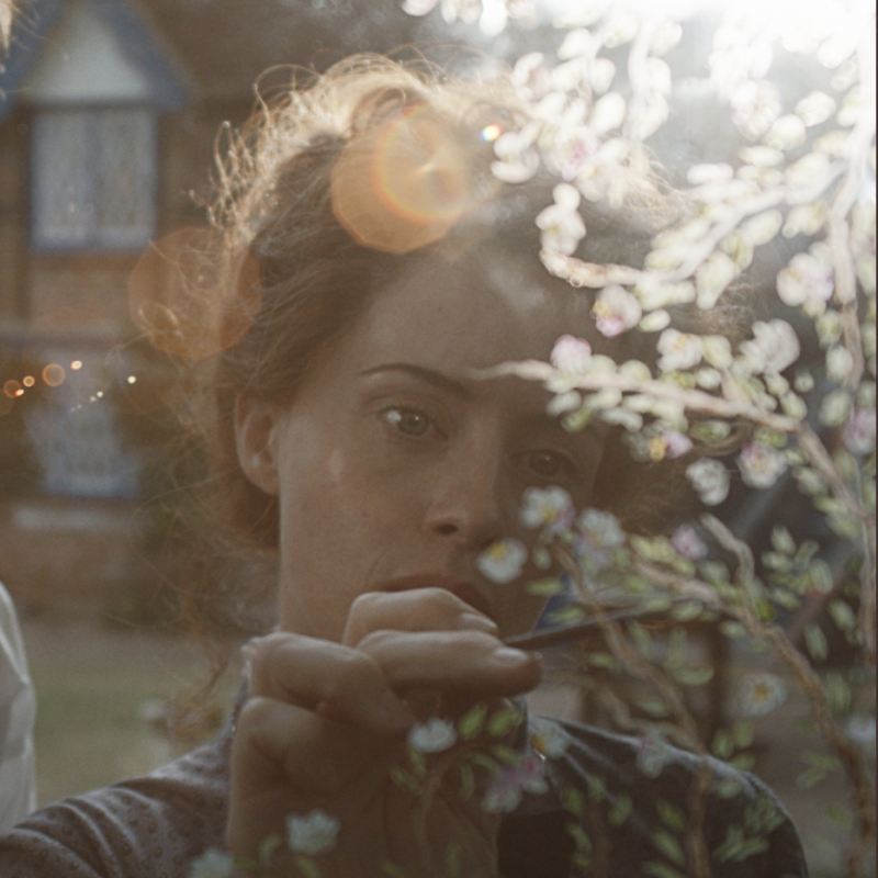 Here's the first look of the new feature film The Electrical Life of Louis Wain, starring Claire Foy!