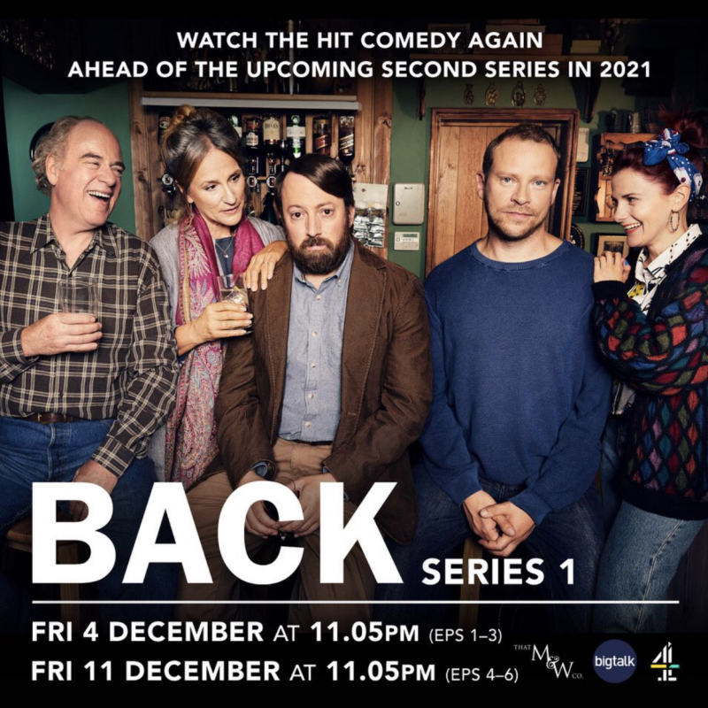 Series 1 of Back is back ahead of the release of season 2 in 2021!