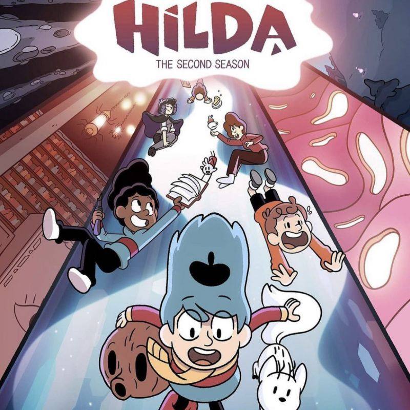 The second season of Hilda is out now, with Daisy Haggard and Ako Mitchell!
