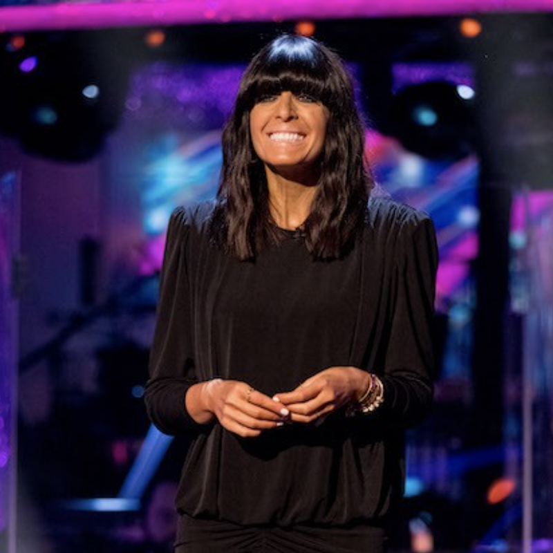 It's the final of Strictly Come Dancing, hosted by the wonderful Claudia Winkleman!