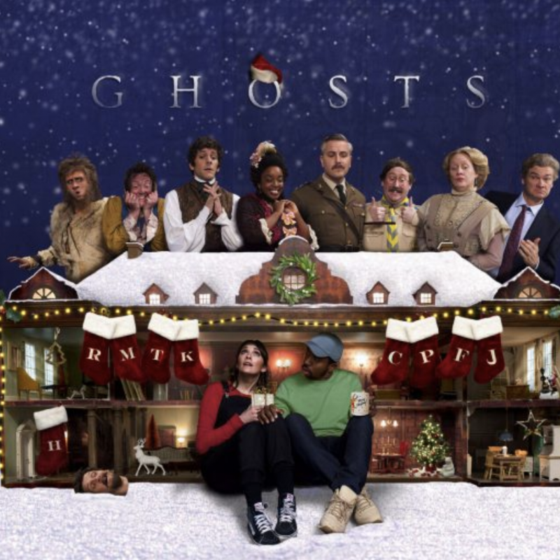 More festive fun with Ghosts: The Ghost of Christmas, starring Charlotte Ritchie, Kiell Smith-Bynoe and Katy Wix!