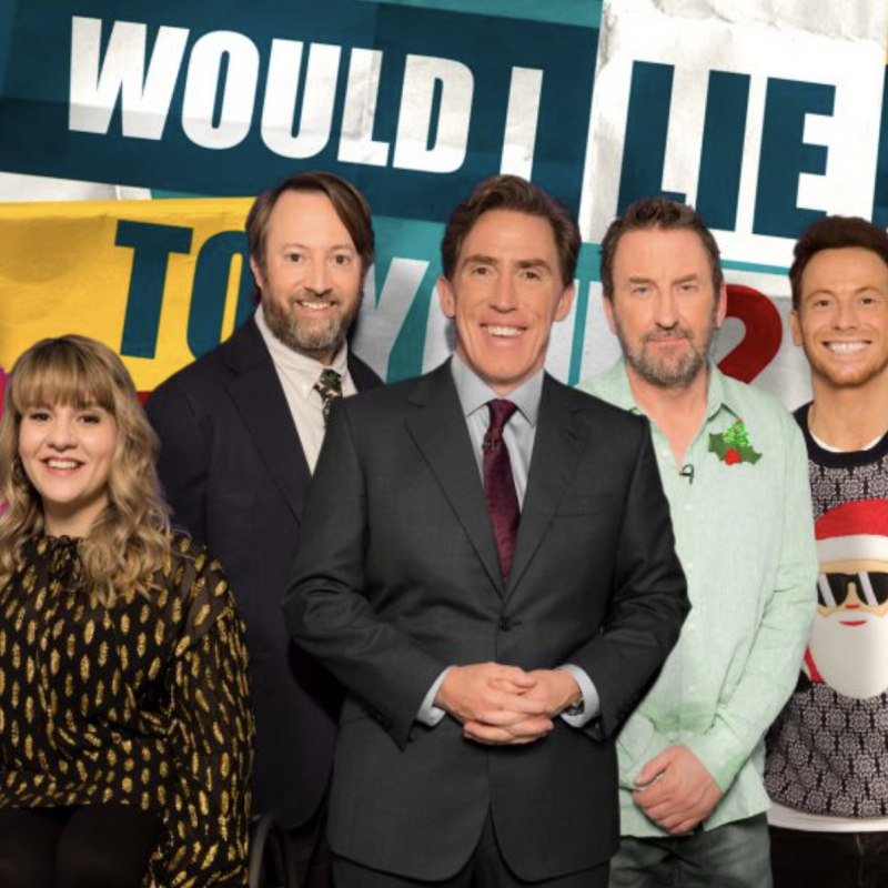 The always brilliant David Mitchell is on the panel for Would I Lie to You? At Christmas.