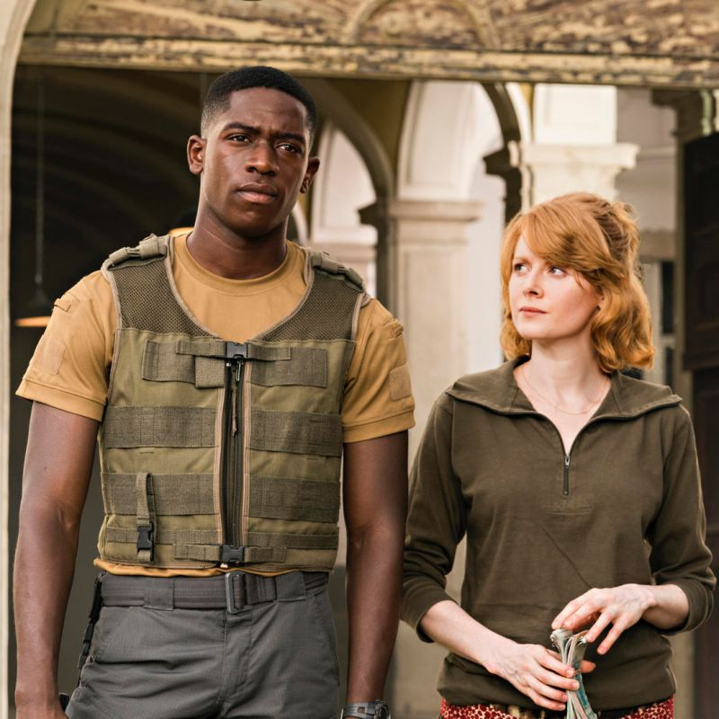 New Sci-Fi action thriller 'Outside the Wire' starring Emily Beecham.