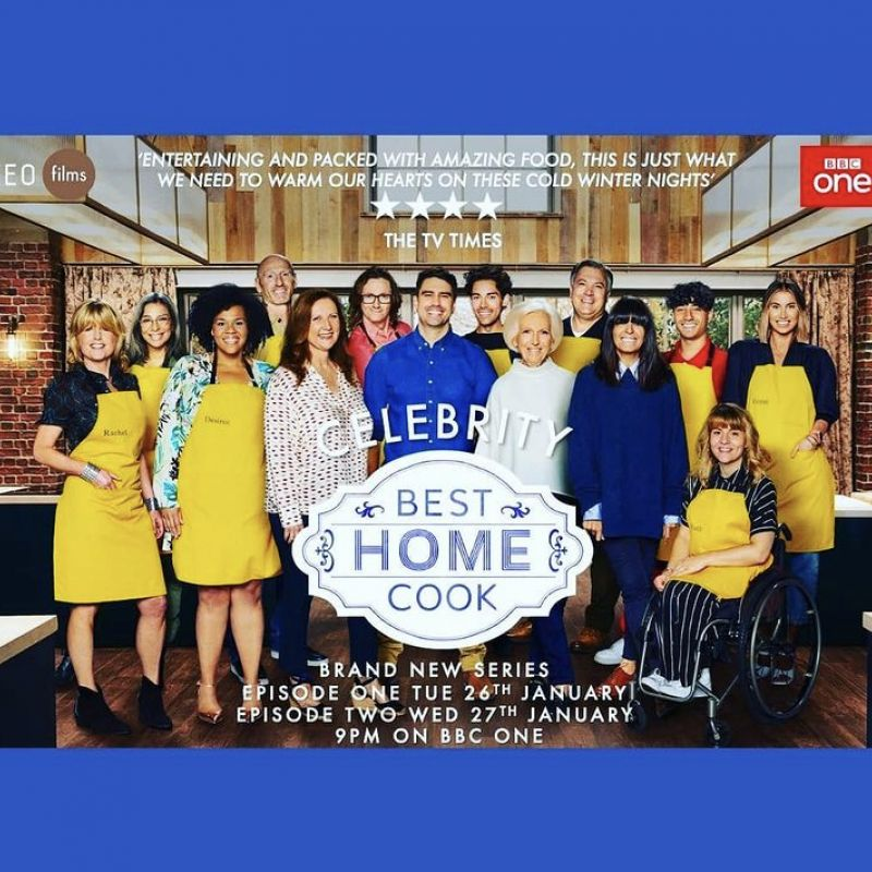 New series of 'Celebrity Best Home Cook' with Desiree Burch and Claudia Winkleman.