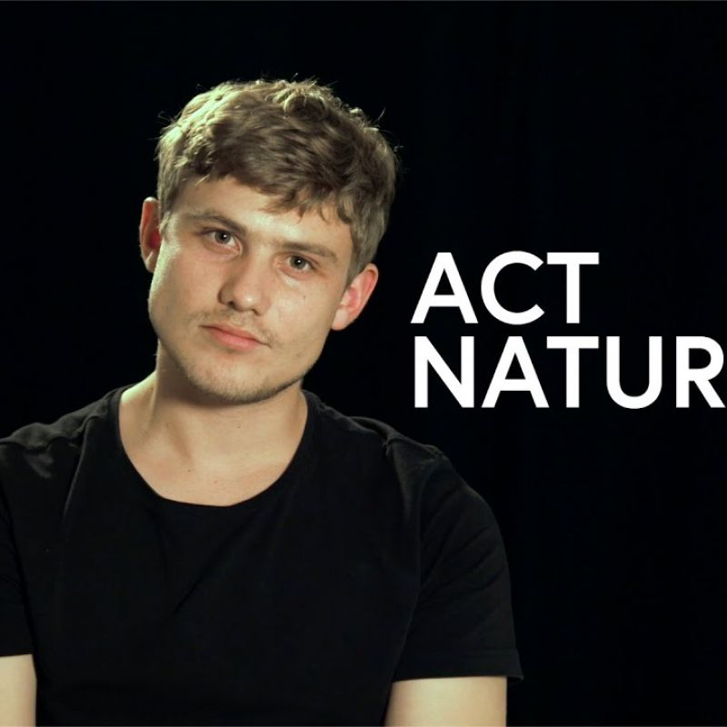 ACT NATURAL written by and starring Jon Pointing as Cayden Hunter is now available on Mr Box Youtube Channel!