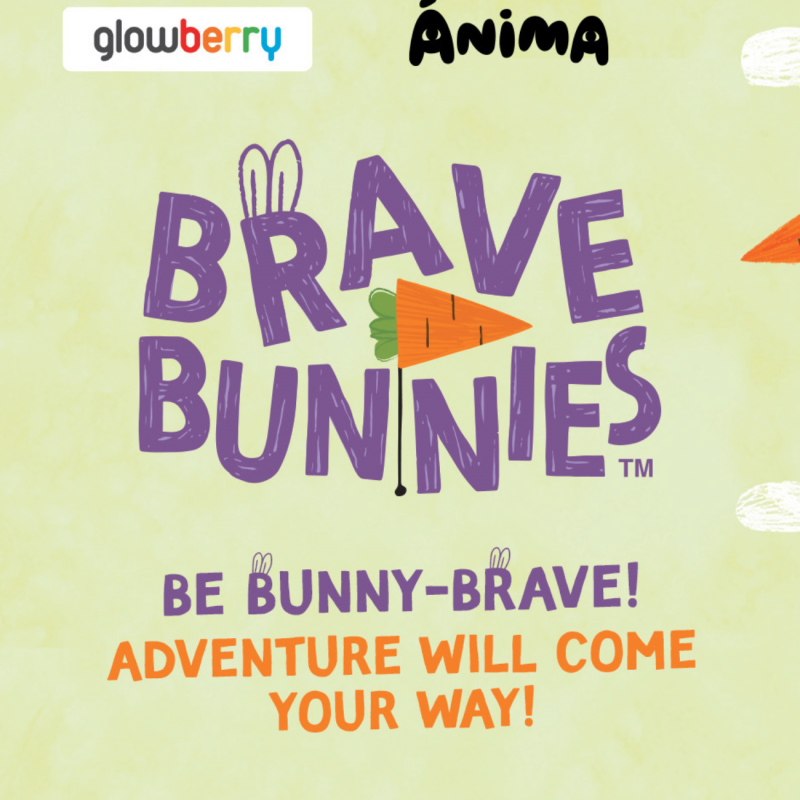 Two curious Brave Bunnies search for adventures and new friends while traveling around the world on their Bunny-bus.