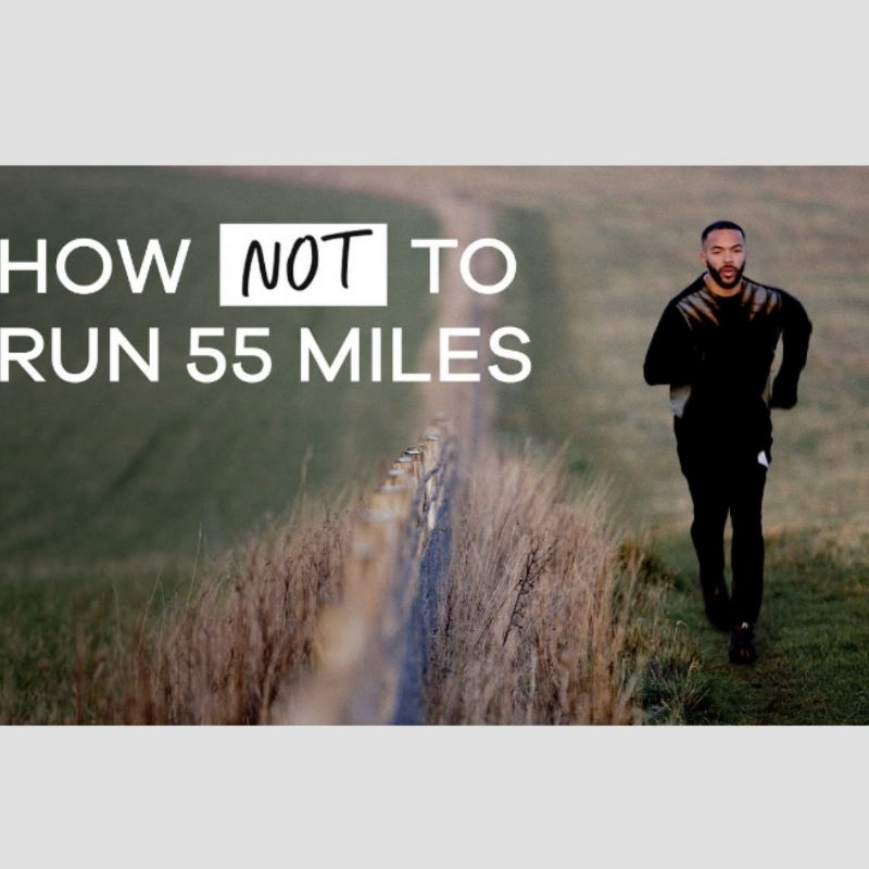 Don't miss Reece Parkinson's BBC Documentary 'How Not to Run 55 Miles' now on iPlayer.