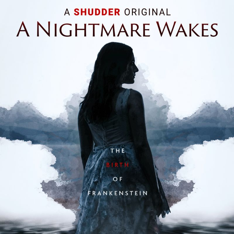 Alix Wilton Regan stars as Mary Shelley in  the new Thriller film 'A Nightmare Wakes'.