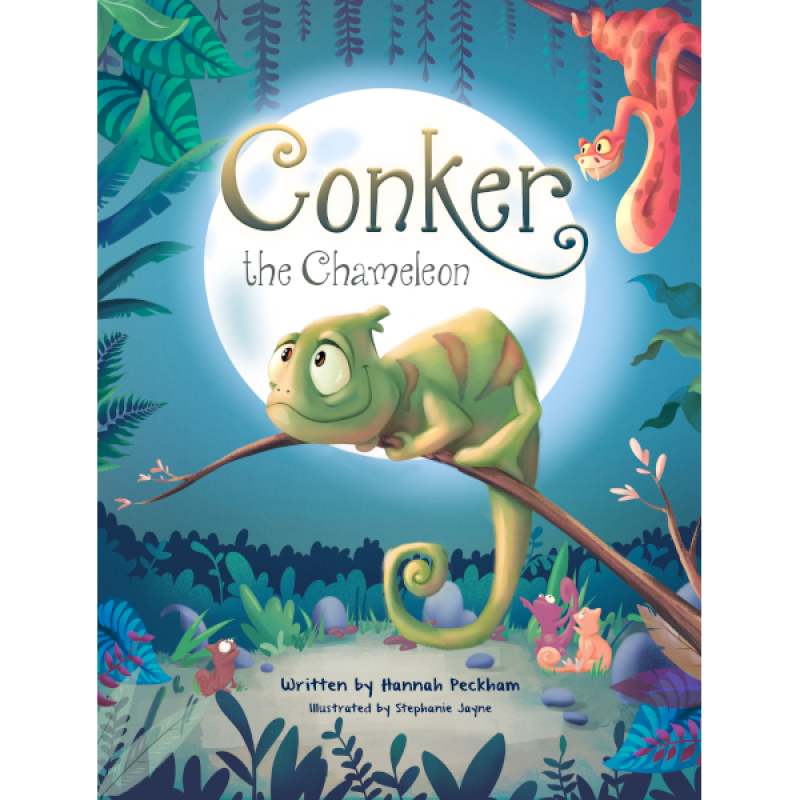 Amazing News! 'Conker the Chameleon' a Children's book by Hannah Peckham is a Best Seller in lots of categories on Amazon!