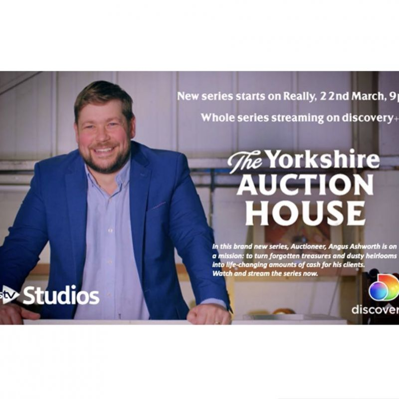 Annie Hulley narrates the Documentary 'The Yorkshire Auction House'