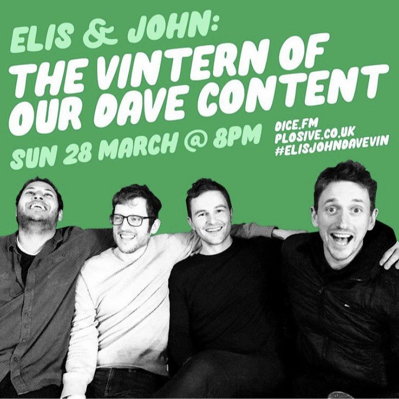 Elis and John: The Vintern of our Dave Content.