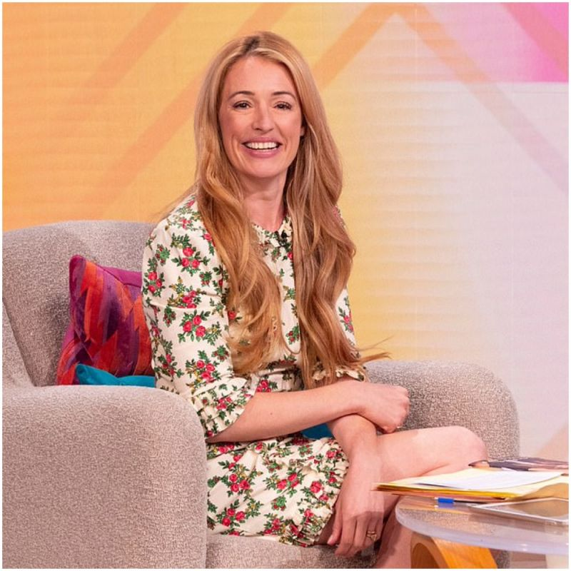 Don't miss Cat Deeley who is standing in for Lorraine Kelly on her ITV show this week.
