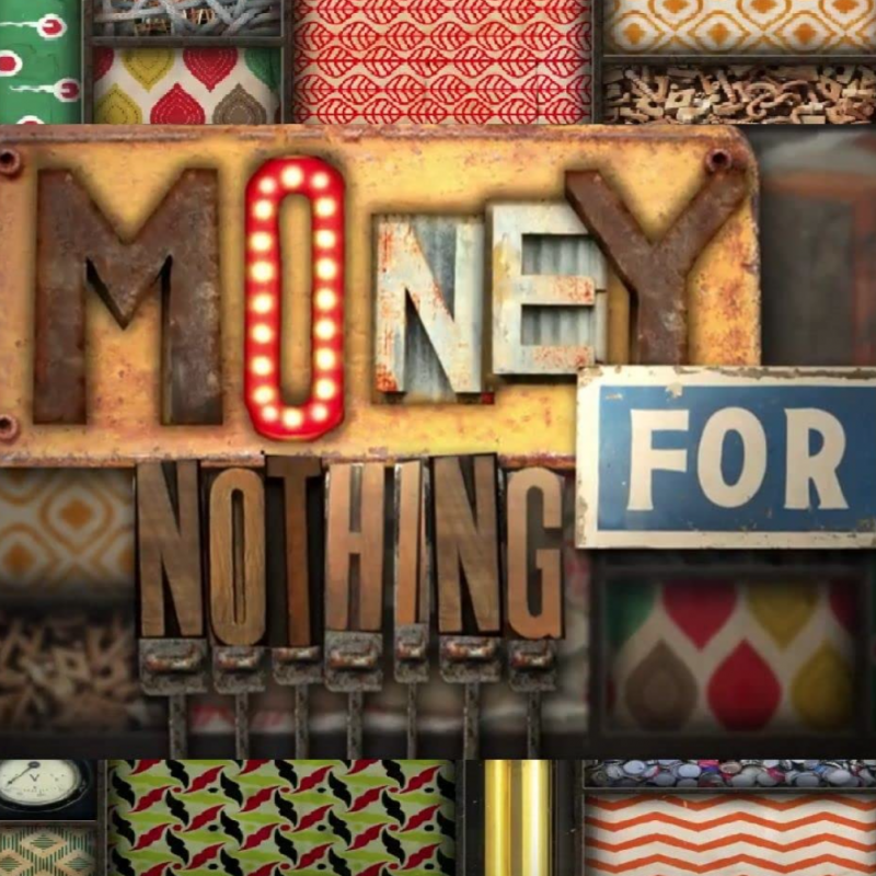 New series of Money For Nothing, with narration from Arthur Smith.